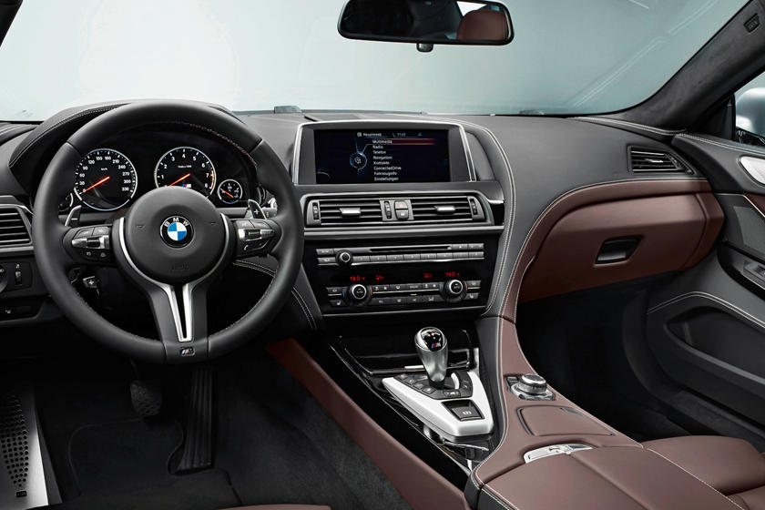 2014-2018 BMW M6 Gran Coupe Dashboard Layout