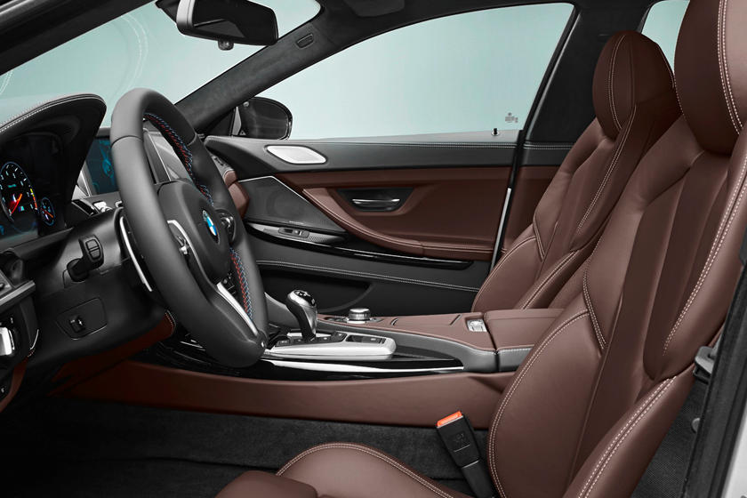 2014-2018 BMW M6 Gran Coupe Driver and Front Passenger Seats