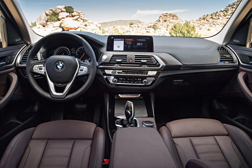 2018-2019 BMW X3 Dashboard Layout
