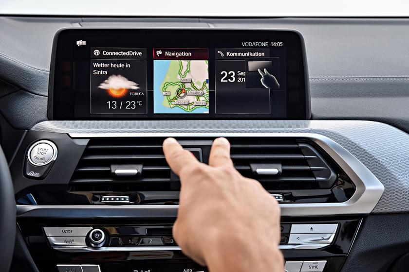 2018-2019 BMW X3 Infotainment System