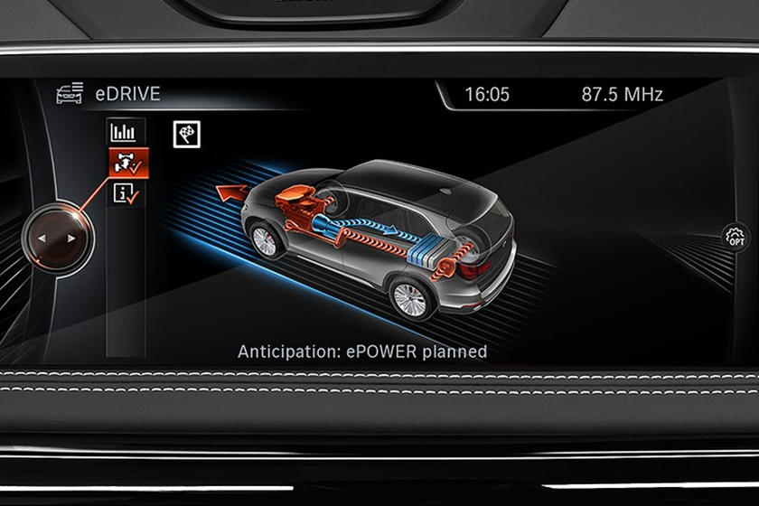 2016-2018 BMW 3 Series Plug-in Hybrid Information Menu