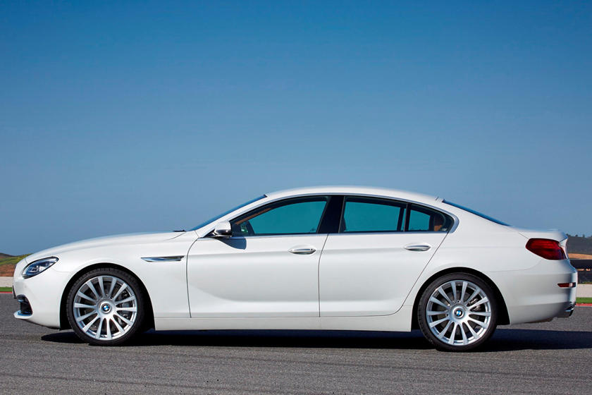 2014-2018 BMW 6 Series Gran Coupe Left Side View