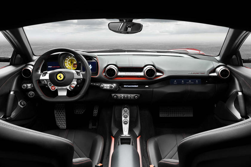 Ferrari 812 Superfast Dashboard