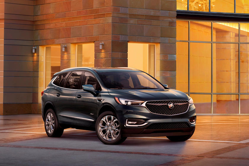 2018-2019 Buick Enclave Front Three-Quarter Right Side View