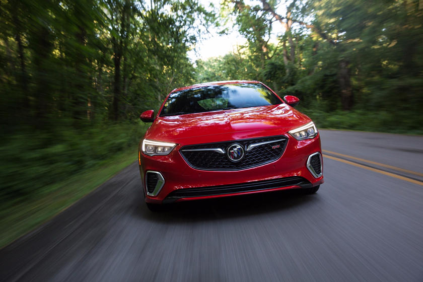 2018 Buick Regal GS Sedan In Motion