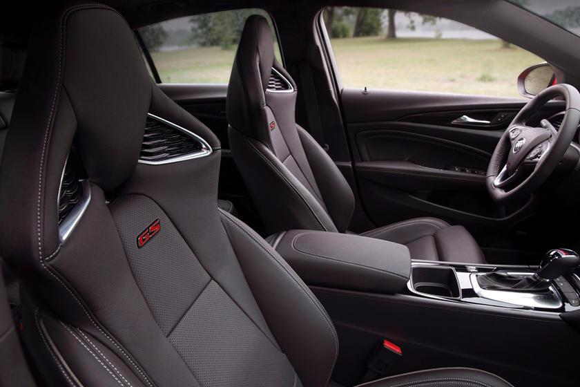 2018 Buick Regal GS Sedan Front Seating