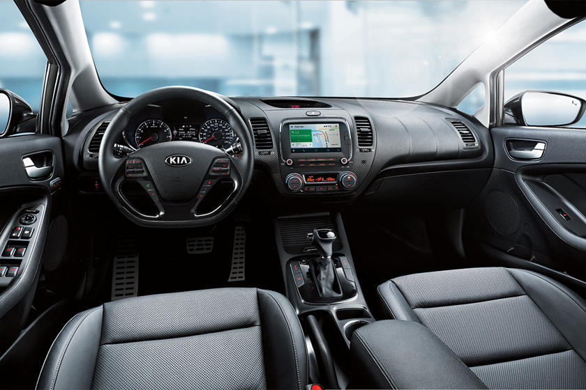 2017 Kia Forte SX 4dr Hatchback Interior Shown