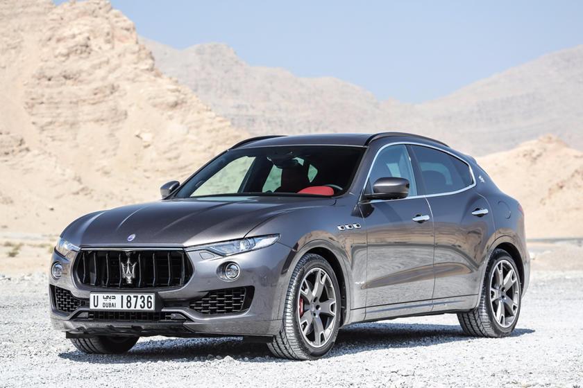2018 Maserati Levante Review Trims Specs And Price Carbuzz