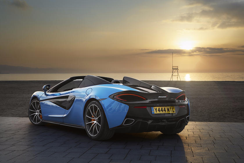 2018 Mclaren 570s Spider Review Trims Specs And Price Carbuzz