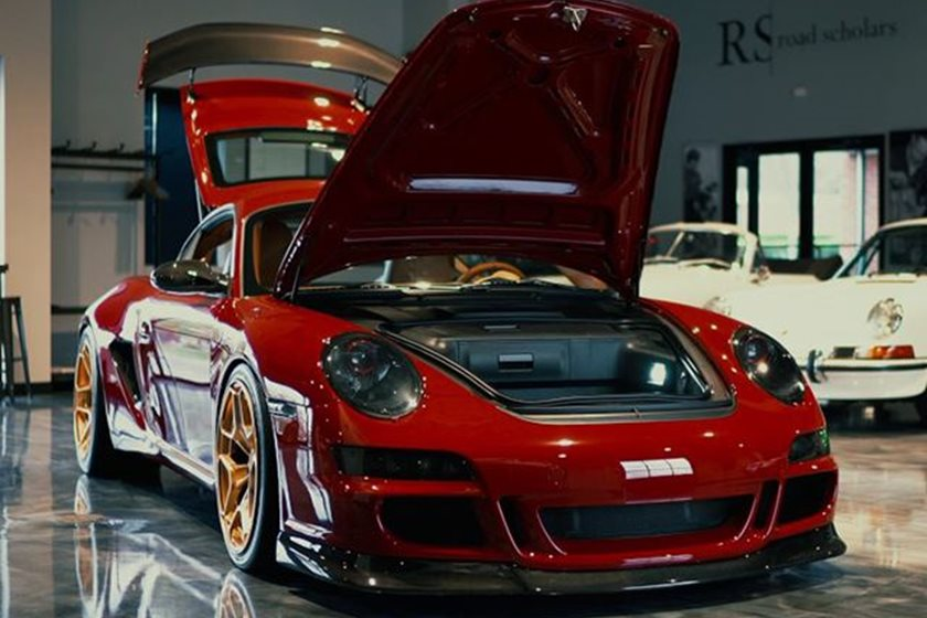 This Custom Porsche Cayman Is One Of The Best We Ve Ever