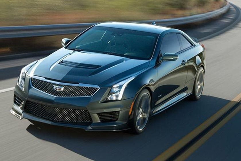 2016-2018 Cadillac ATS-V Coupe Driving Action