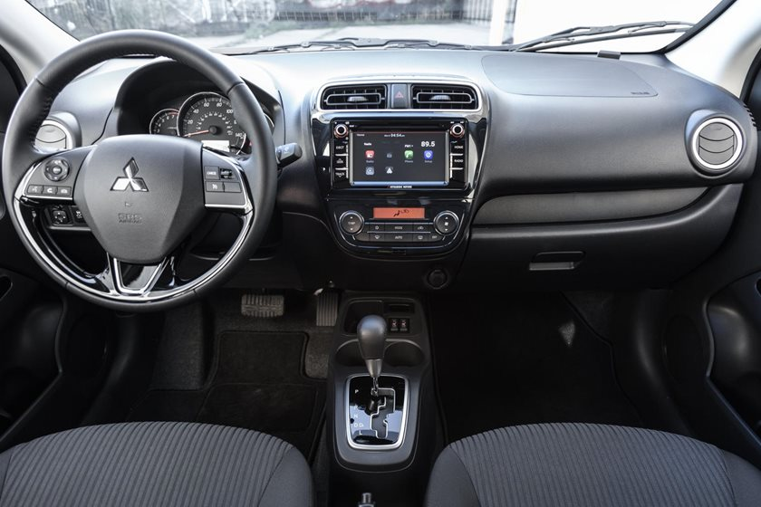 2018 Mitsubishi Mirage G4 SE Sedan Dashboard
