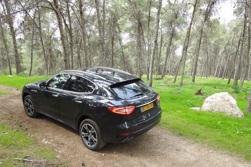 מפואר 2017 Maserati Levante Review: Driving In The Holy Land Brought Us PQ-53