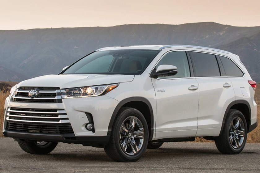 2018 Toyota Highlander Hybrid Review Trims Specs And Price Carbuzz