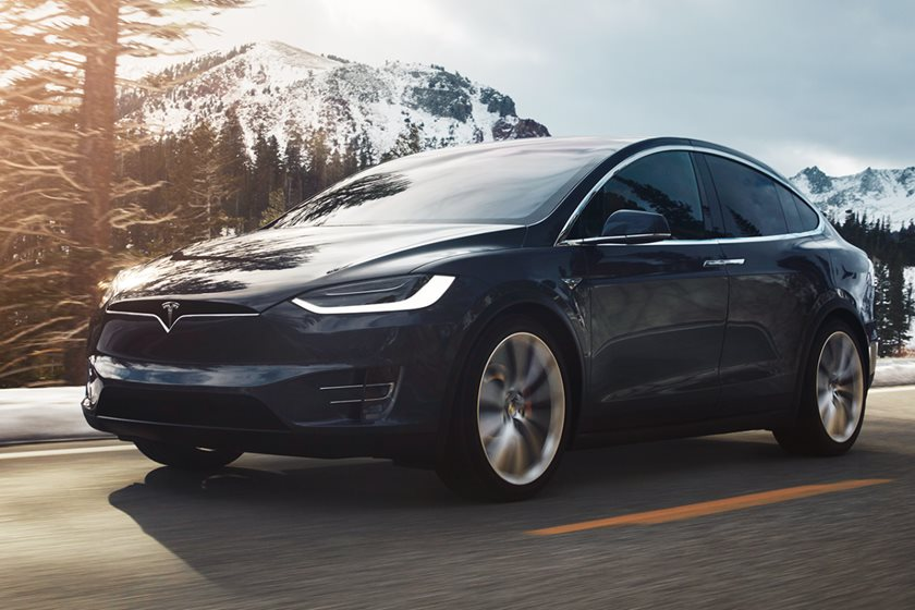 2018 Tesla Model X P100d Review Trims Specs And Price Carbuzz