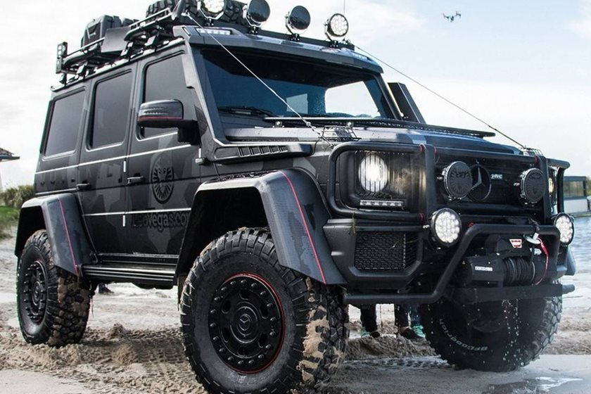 jon olsson creates world 39 s first convertible mercedes g500. Black Bedroom Furniture Sets. Home Design Ideas