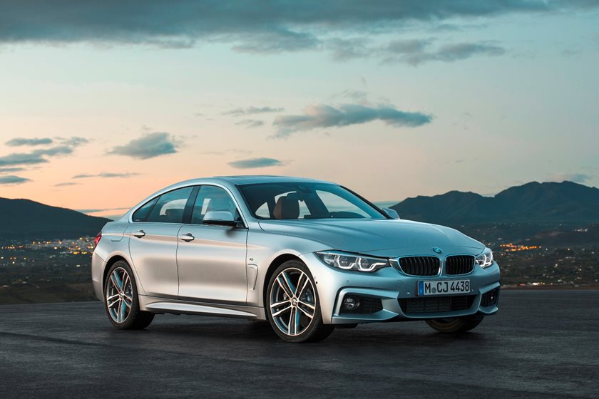 2017-2019 BMW 4 Series Gran Coupe Front Three-Quarter Right Side View