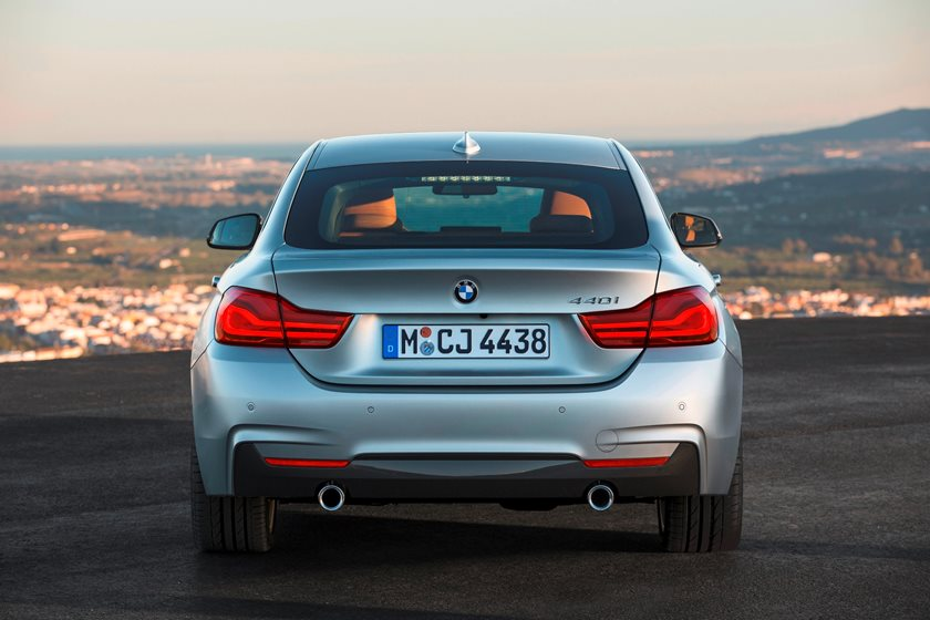 2017-2019 BMW 4 Series Gran Coupe Rear View