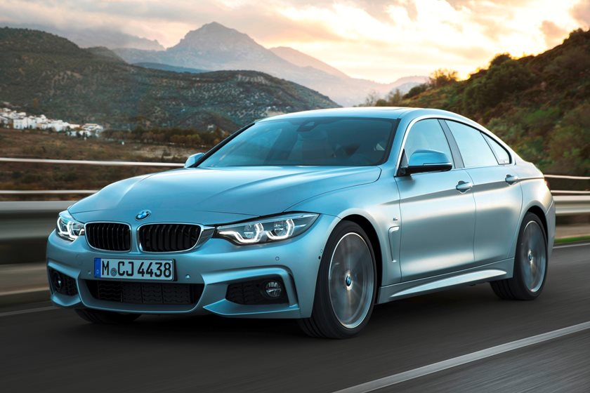 2017-2019 BMW 4 Series Gran Coupe Left Front Three-Quarter Dynamic