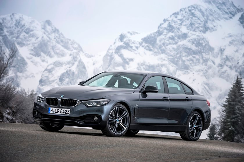 2017-2019 BMW 4 Series Gran Coupe Front Three-Quarter Left Side View