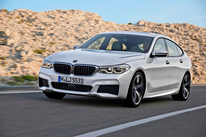2018 BMW 6 Series Gran Turismo Front Side in Motion