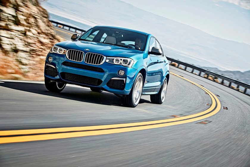 2015-2018 BMW  X4 Side Profile Dynamic