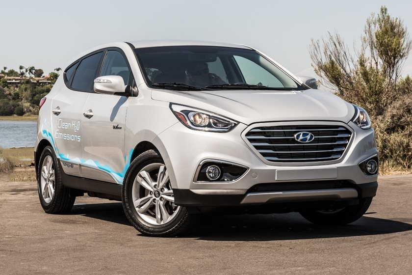 2018 Hyundai Tucson Fuel Cell Review Carbuzz