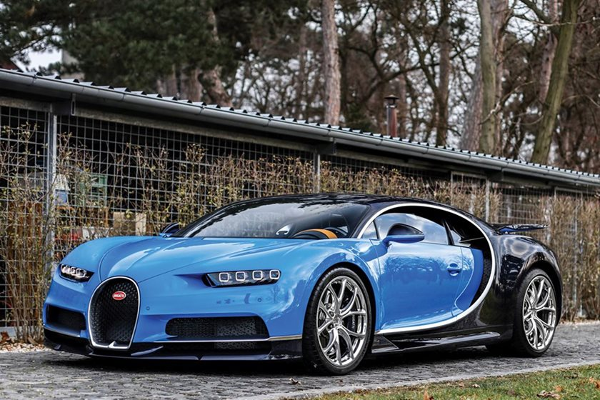someone is already selling a bugatti chiron at auction carbuzz. Black Bedroom Furniture Sets. Home Design Ideas