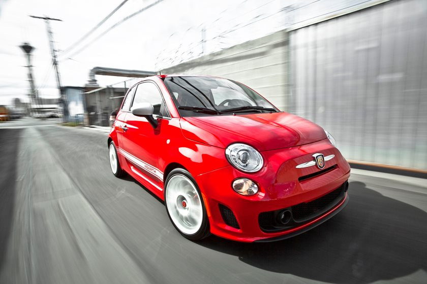 2012-2018 FIAT  500 Abarth Driving Action