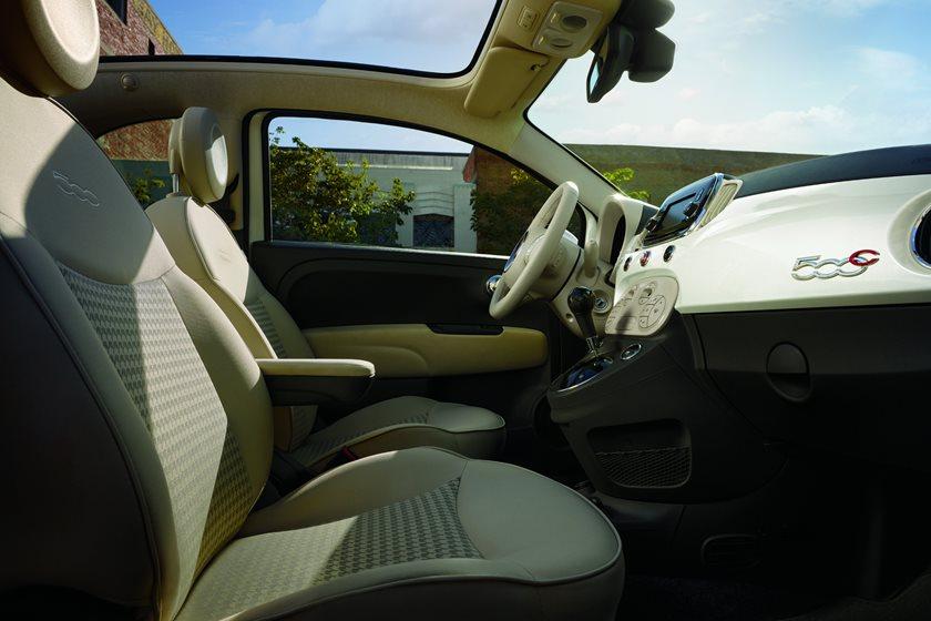 2012-2018 FIAT 500c Convertible Front Seats