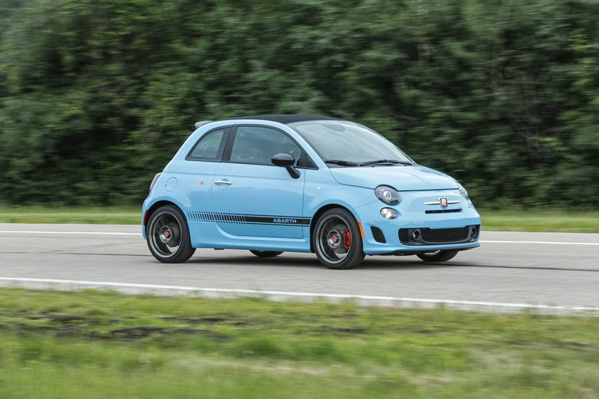 2013-2018 FIAT  500 C Abarth In Motion