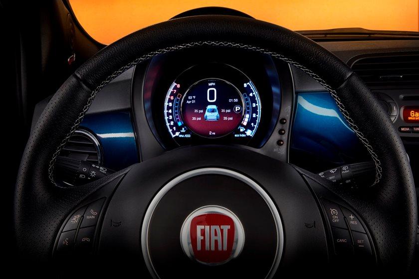 2012-2018 FIAT 500 Hatchback Gauge Cluster