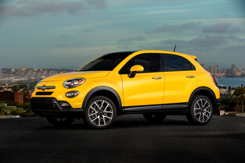 Fiat 500x trekking plus review
