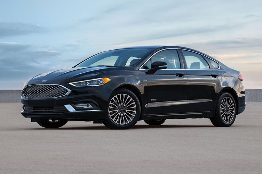 2017 Ford Fusion Energi Platinum Sedan Exterior Shown