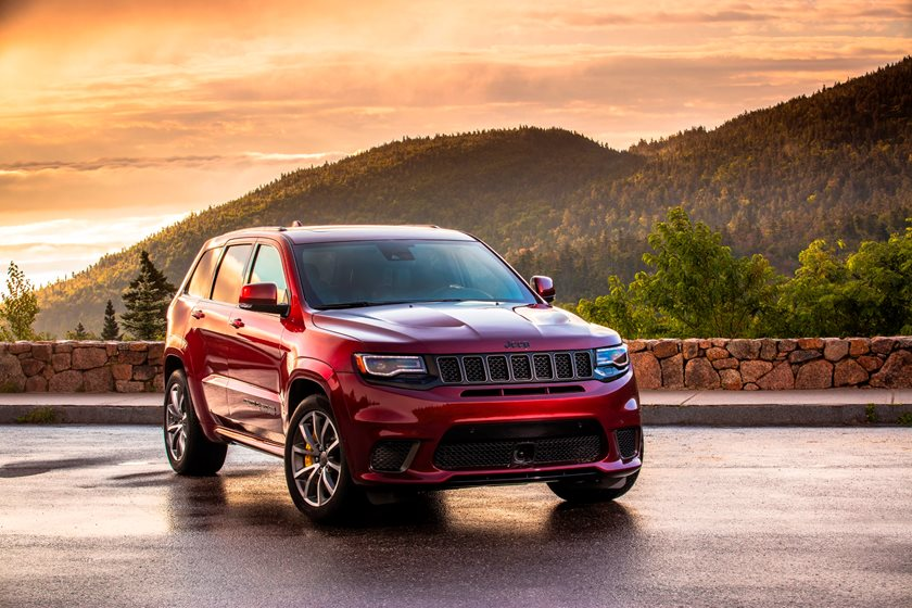 2018 Jeep Grand Cherokee Trackhawk Review Trims Specs And Price