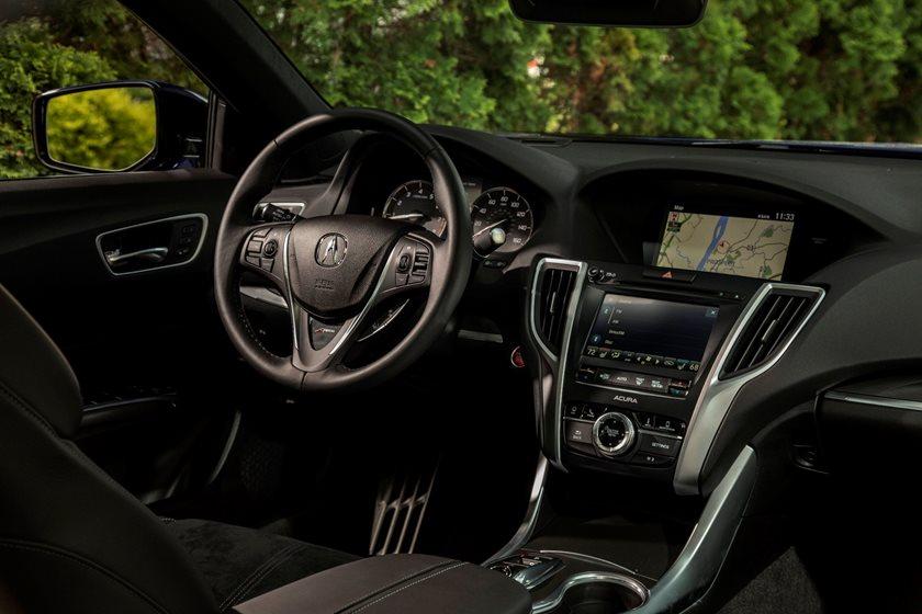 2018-2019 Acura TLX Sedan Driver Area