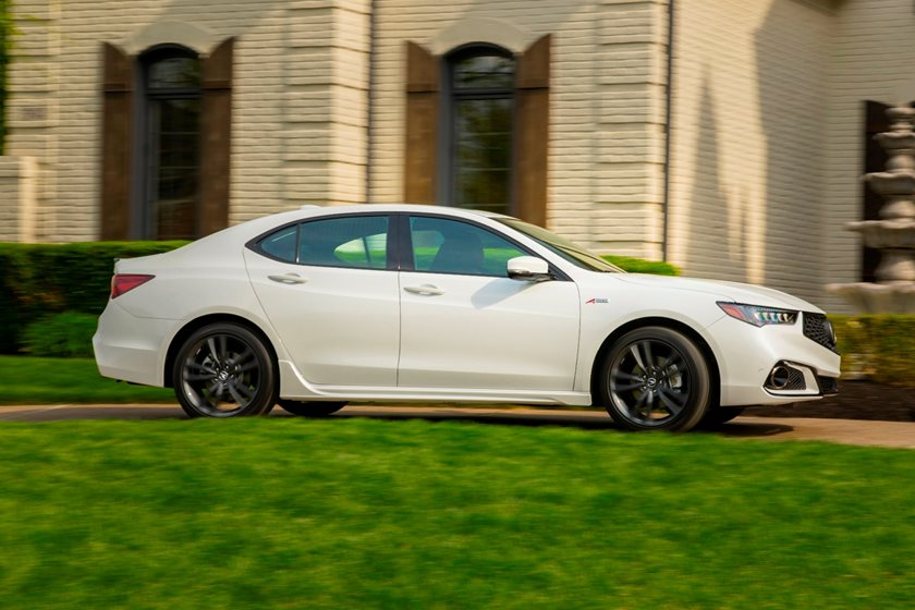 Acura TLX Sedan Review Trims Specs And Price CarBuzz - Acura 2018 tlx price