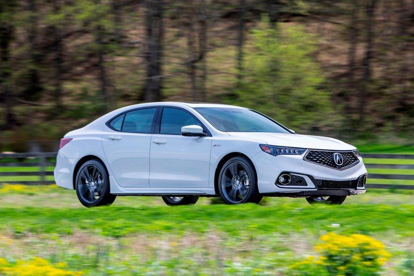 2018-2019 Acura TLX Sedan In Motion