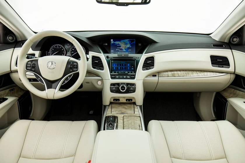2018 Acura RLX Sport Hybrid Driver and Passenger Front View