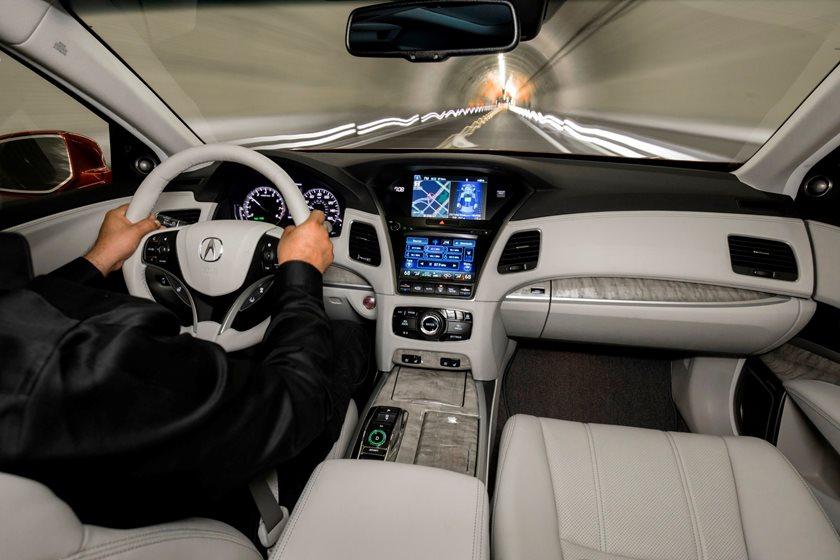 2018 Acura RLX Sedan Dashboard