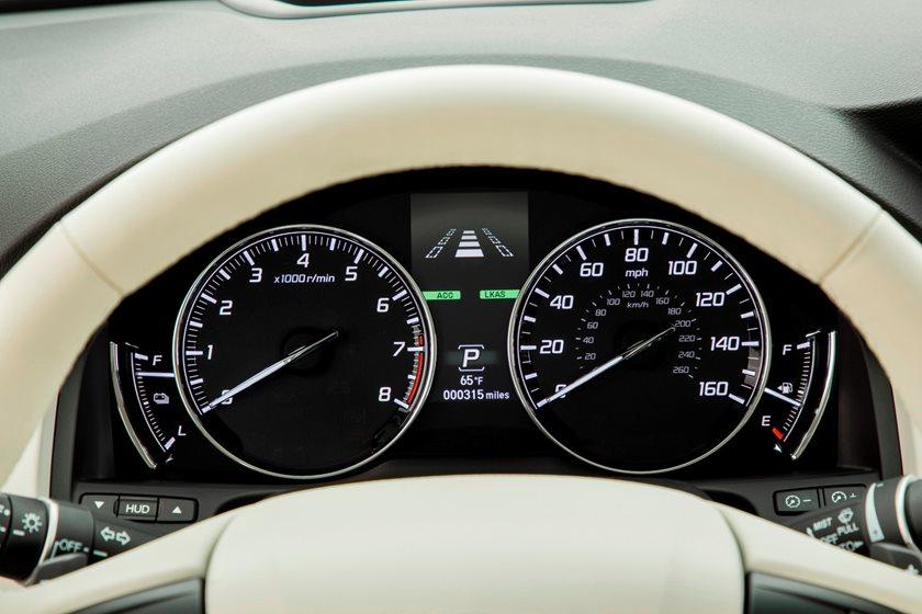 2018 Acura RLX Sedan Gauge Cluster