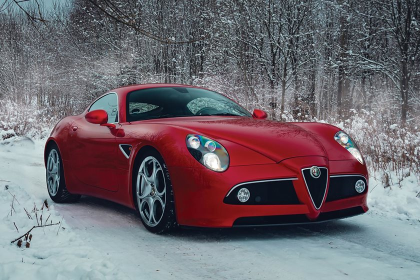 the alfa romeo 8c competizione is a work of automotive art carbuzz. Black Bedroom Furniture Sets. Home Design Ideas