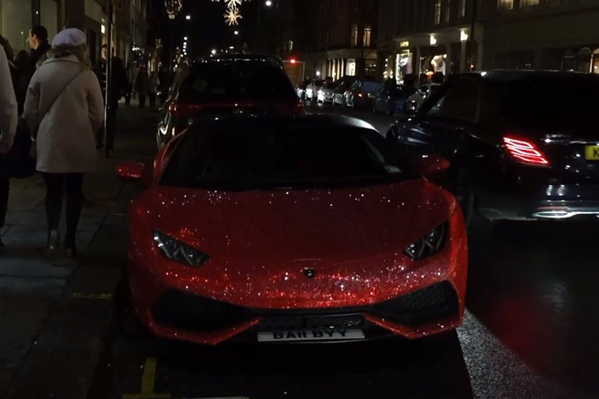 Lamborghini Huracan Coated In 1.3 Million Swarovski Crystals   CarBuzz