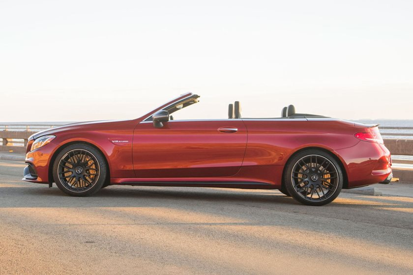 2018 Mercedes-Benz C-Class AMG C 63 S Convertible Profile Shown