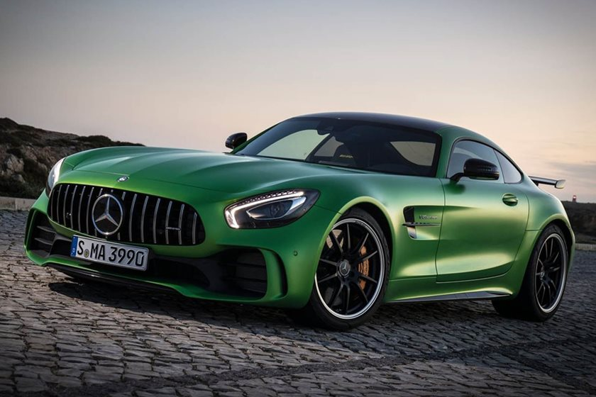 The Mercedes-AMG GT Will Get More Power In Mid-Cycle Refresh - CarBuzz