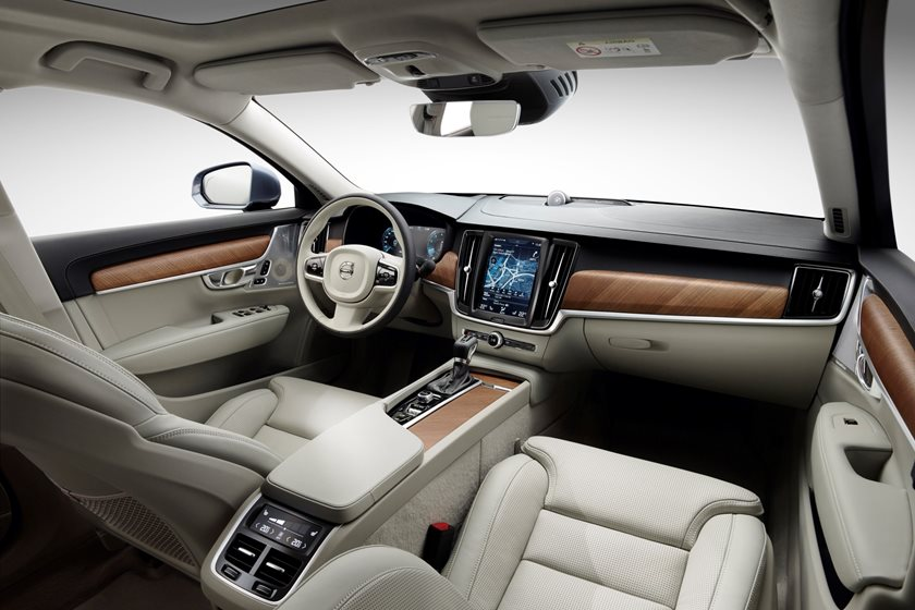 2018 Volvo  S90 Plug-in Hybrid Front Interior Area