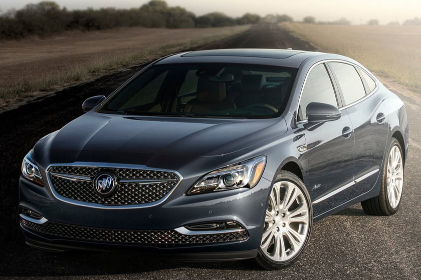 New Buick Lacrosse Avenir Costs Nearly The Same As A Cadillac Xts