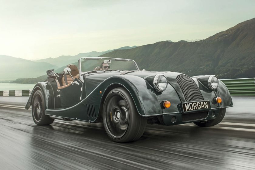 say goodbye to the v8 powered morgan plus 8 carbuzz. Black Bedroom Furniture Sets. Home Design Ideas
