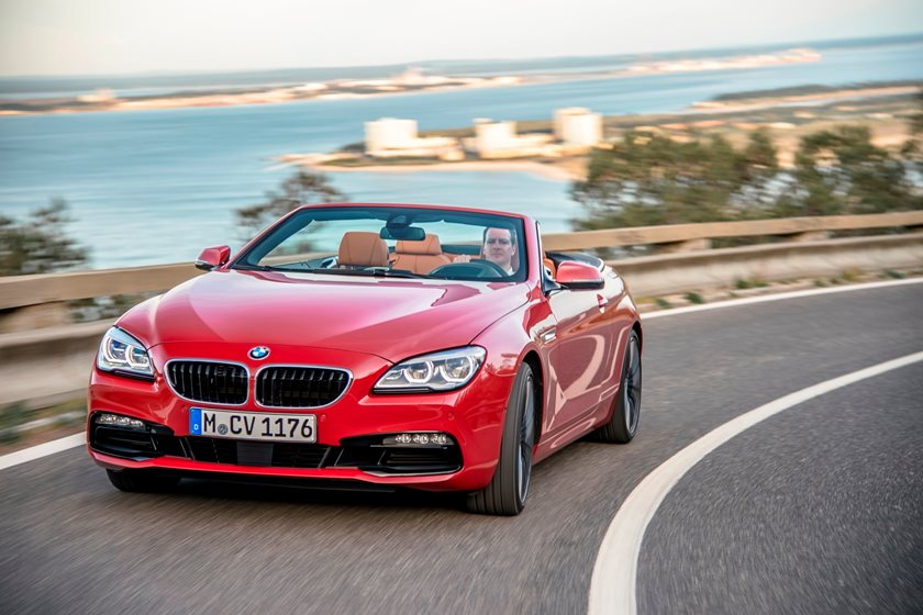2015-2018 BMW 6 Series Convertible In Motion