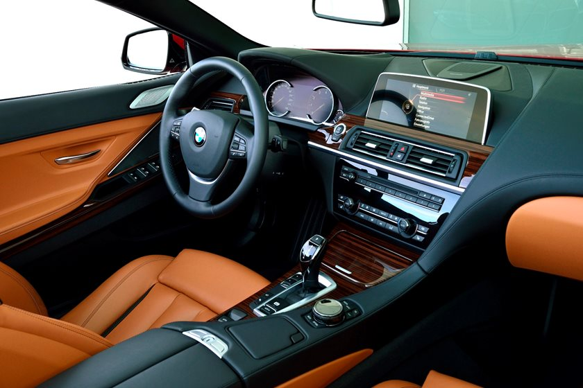 2015-2018 BMW 6 Series Convertible Dashboard  Layout
